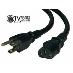 Curtis LCDVD244A Power Cord...