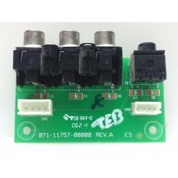 Protron PLTV-3750 Side AV...