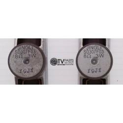 Sylvania LC225SSX Speaker...