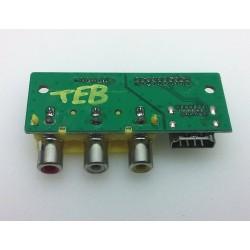 Coby TFTV4028 Side AV Input...