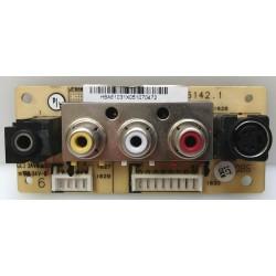 Magnavox 26MF605W/17 A/V...